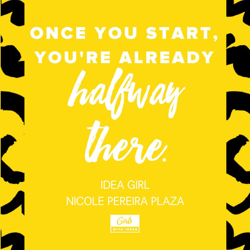Meet an Idea Girl: Nicole Pereira Plaza from   www  .  gi    rlswithideas  .  com