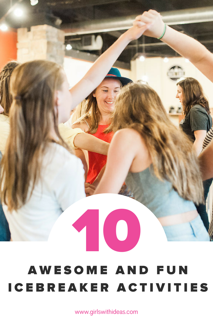 Top 10 Icebreakers to help groups get to know each other.
