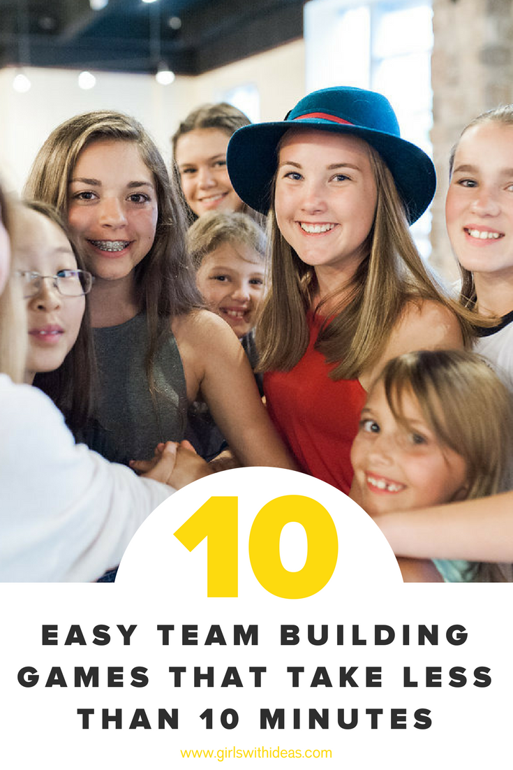 10 EASY TEAM BUILDING GAMES THAT TAKE LESS THAN 10 MINUTES