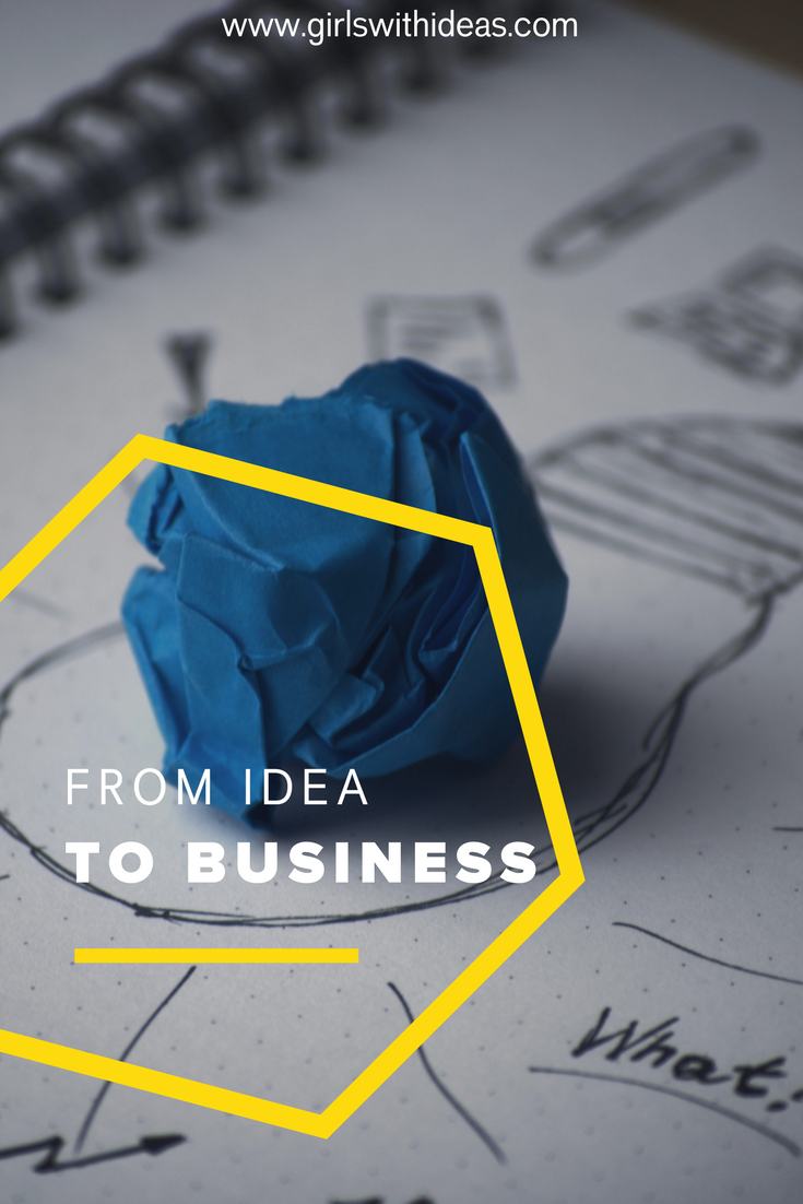 From Idea to Business from   www  .  gir    lswithideas  .  com