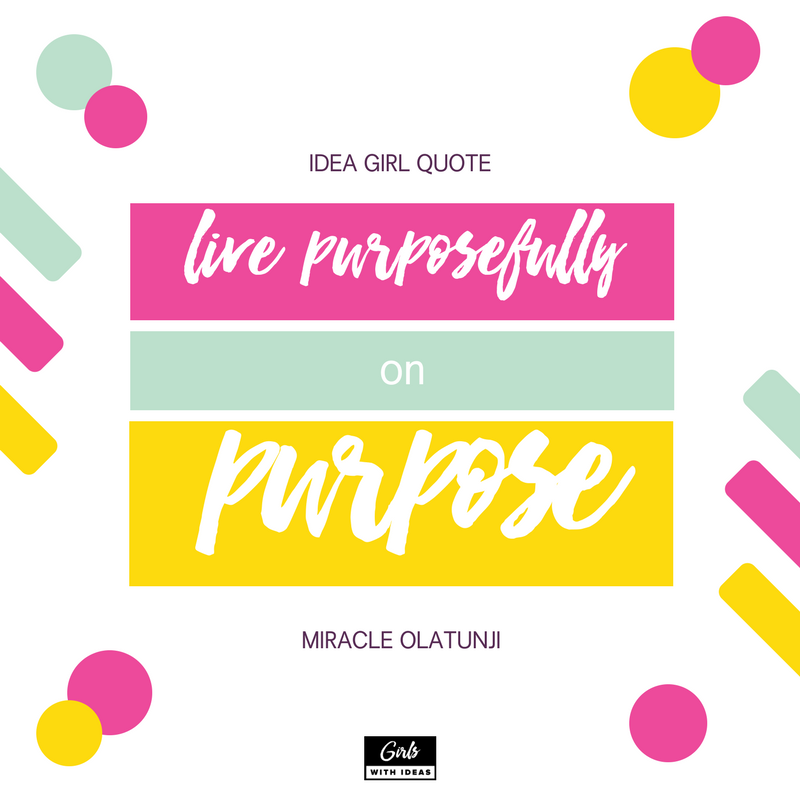 Meet an Idea Girl: Miracle Olatunji from www.girlswithideas.com
