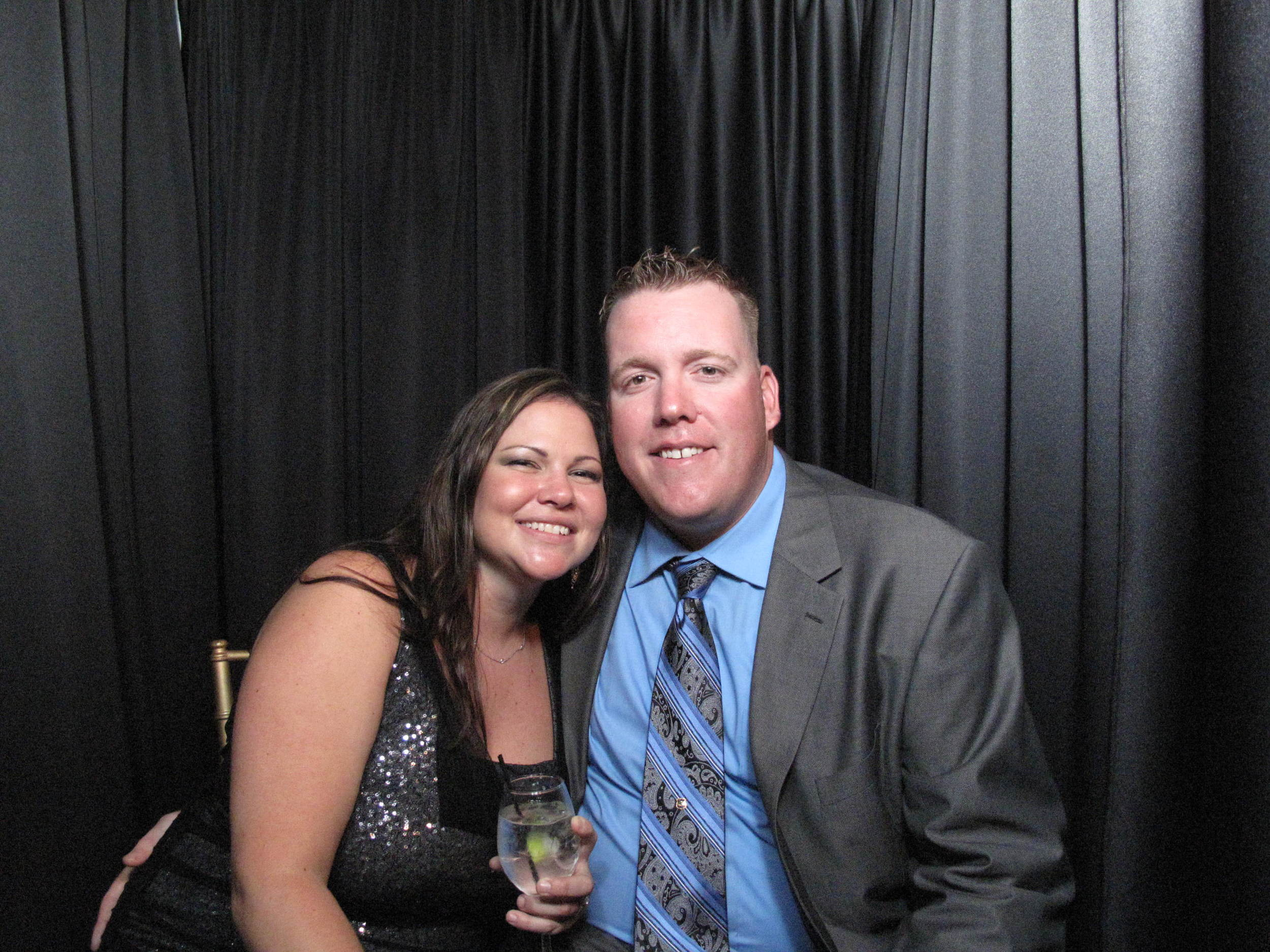 Snapshot Photobooths at Liberty House in Jersey City, New Jersey