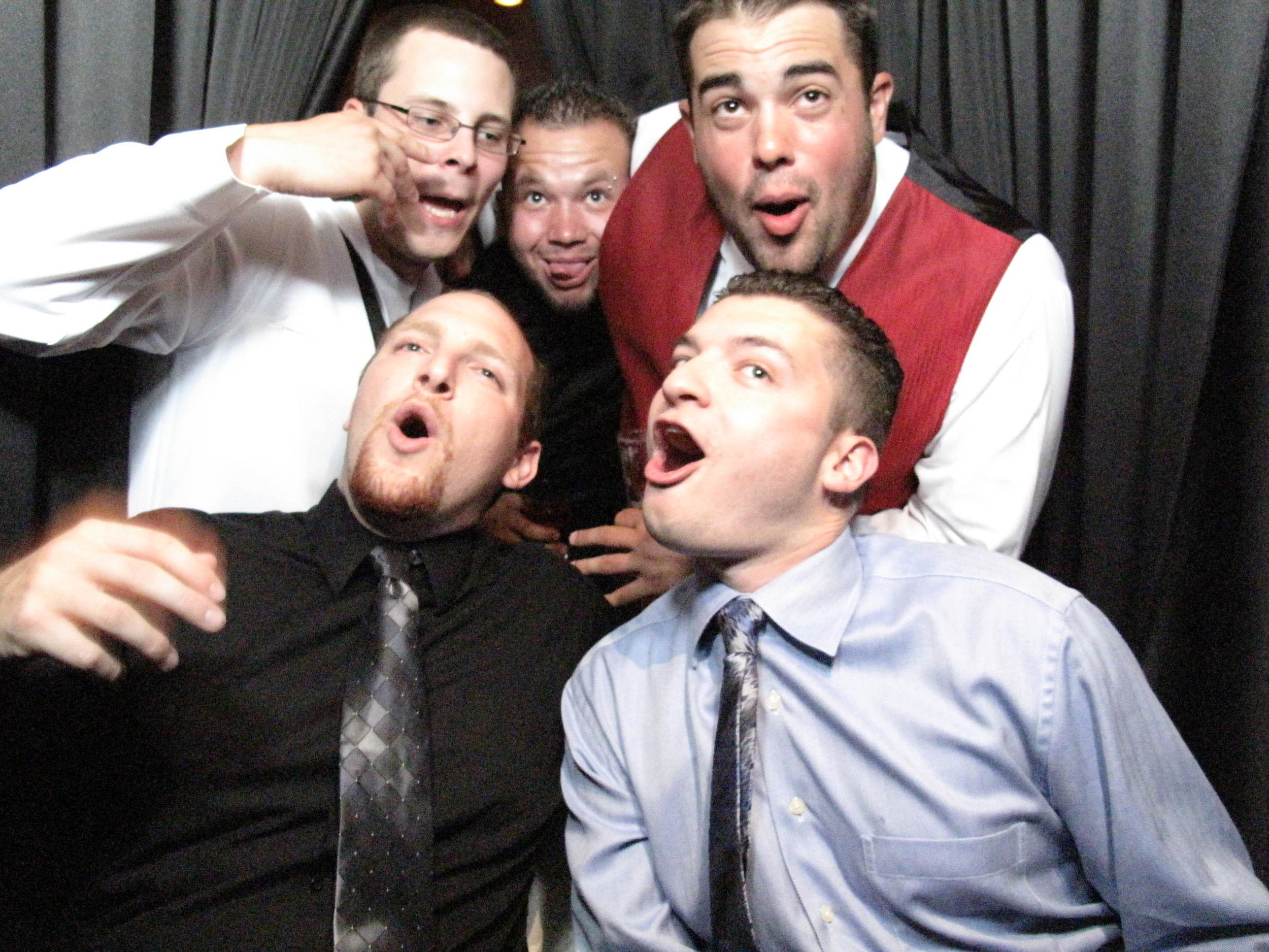 Snapshot Photobooths at  the East Windsor Holiday Inn in East Windsor, New Jersey