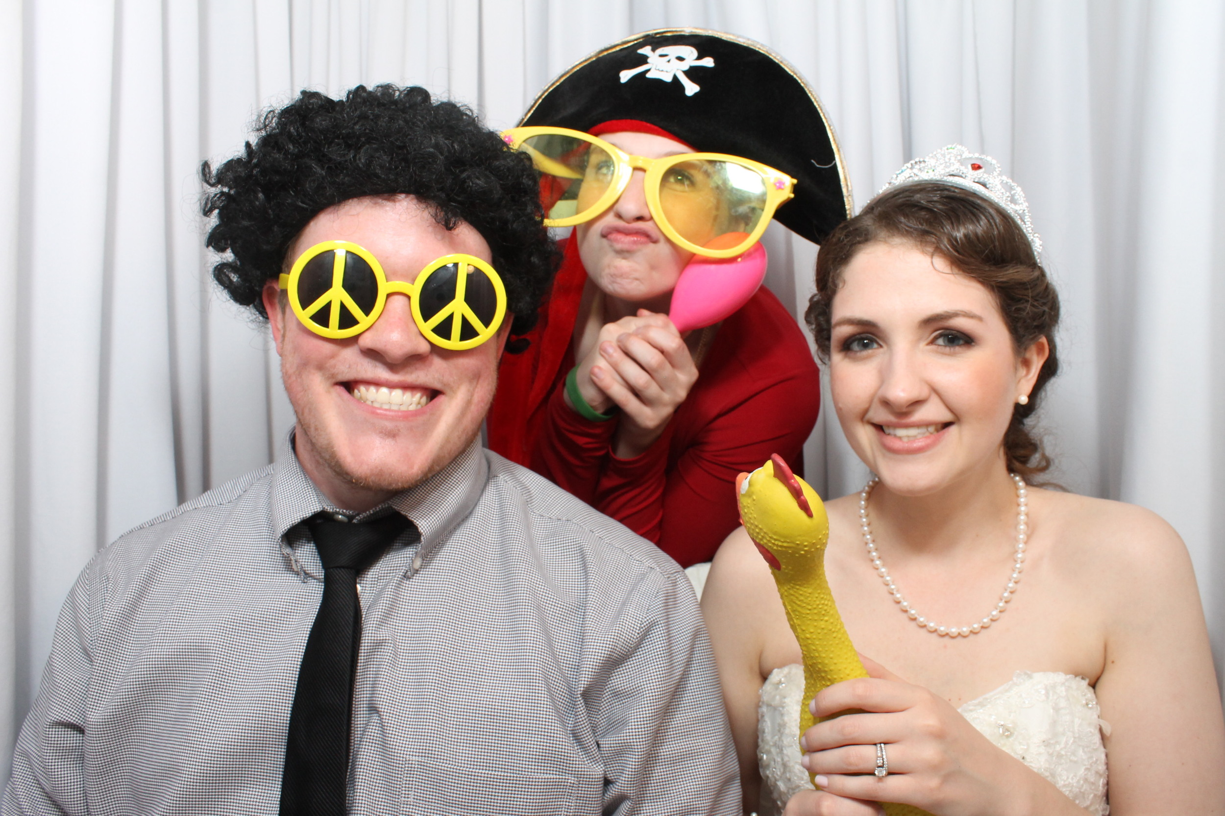 Snapshot Photobooth at the DoubleTree in Tinton Falls, New Jersey