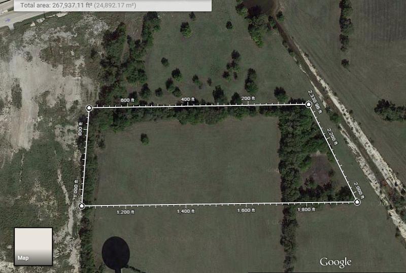 google map measure