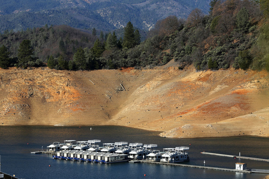 """""""California's Historic Drought - In Pictures""""by  Adam Rifkin"""