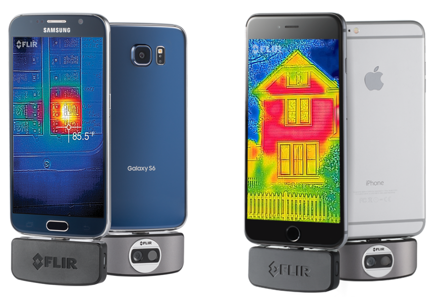 flir one apple and android
