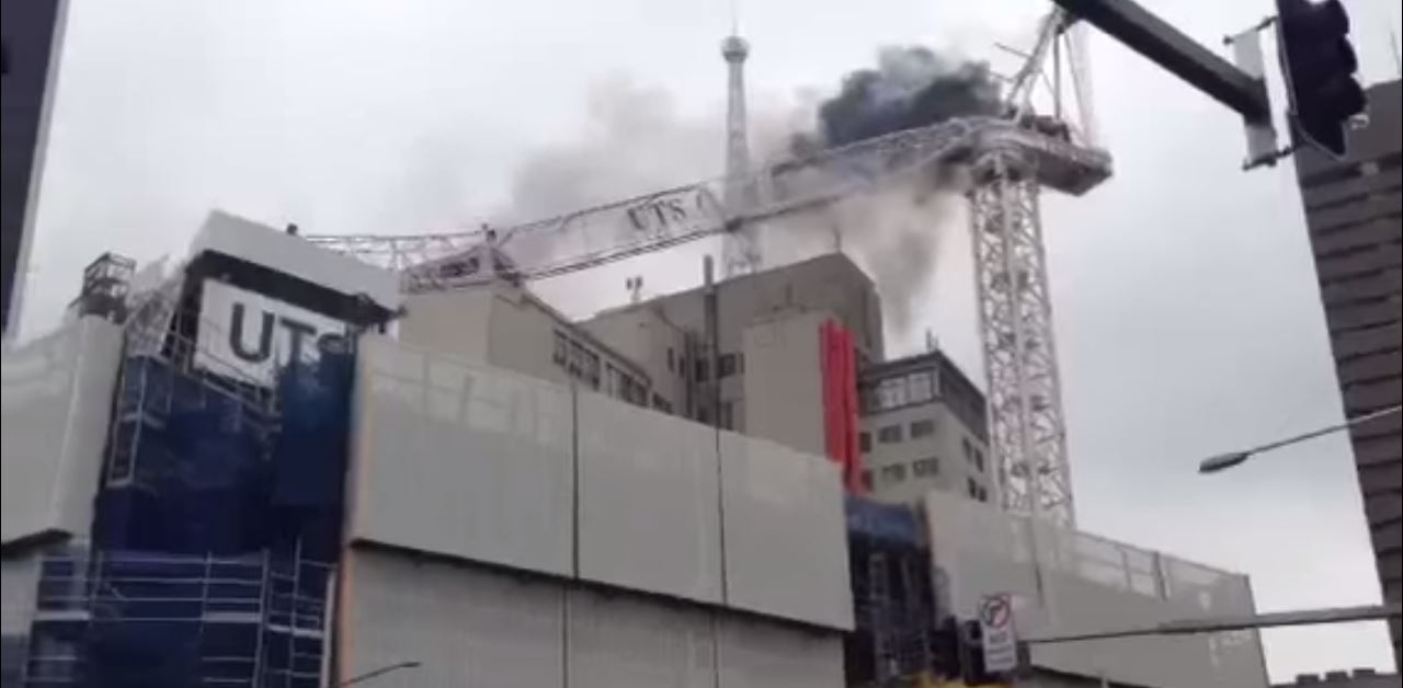 crane collapse australia