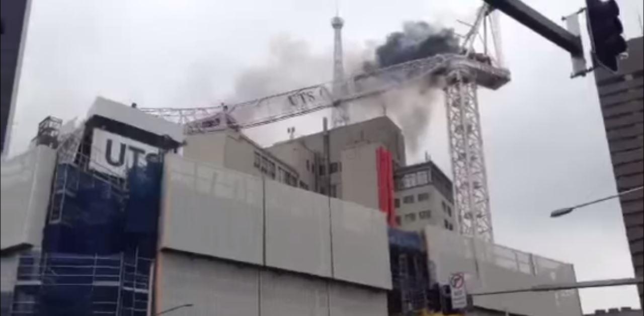 crane collapse australia