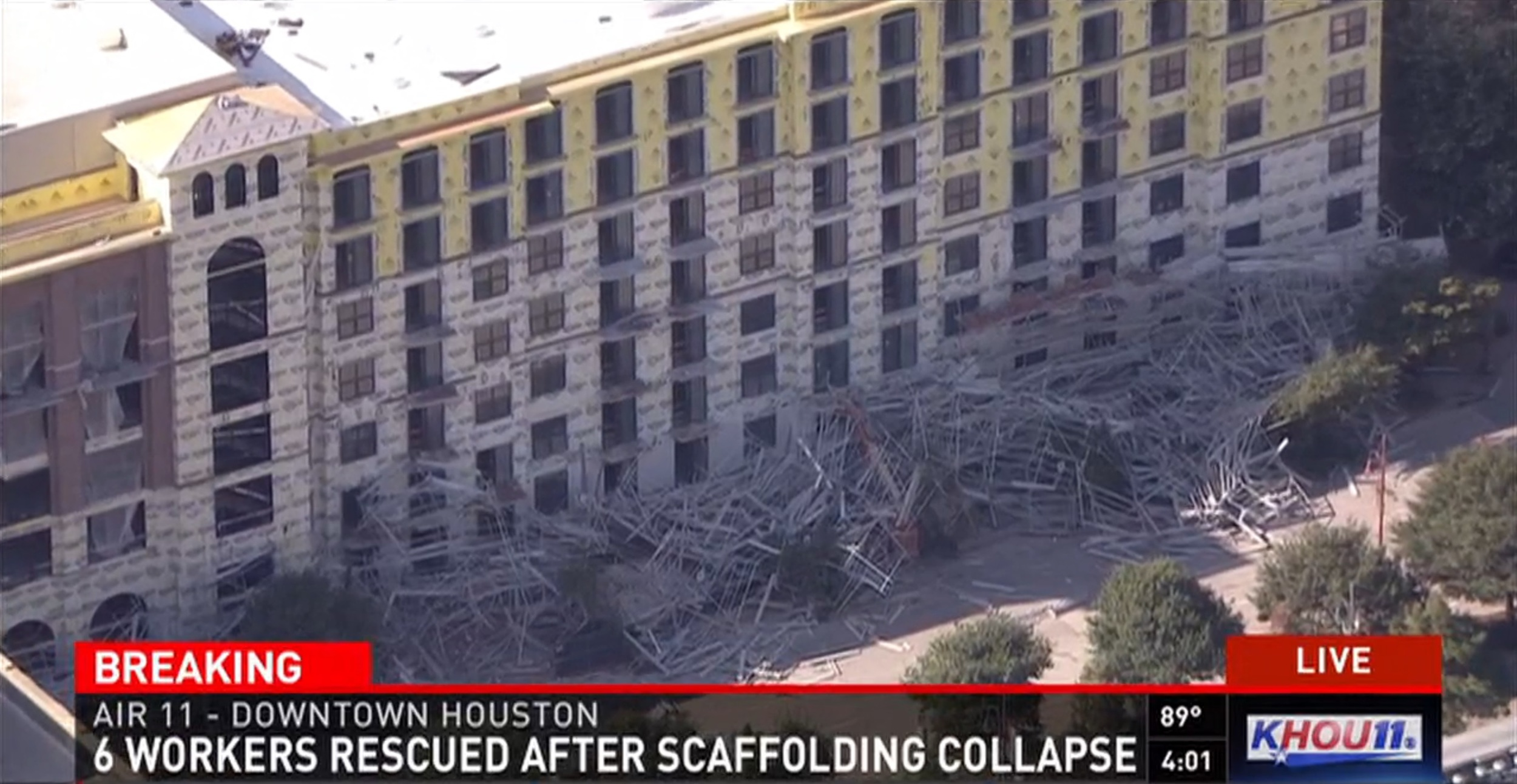 houston scaffold collapse