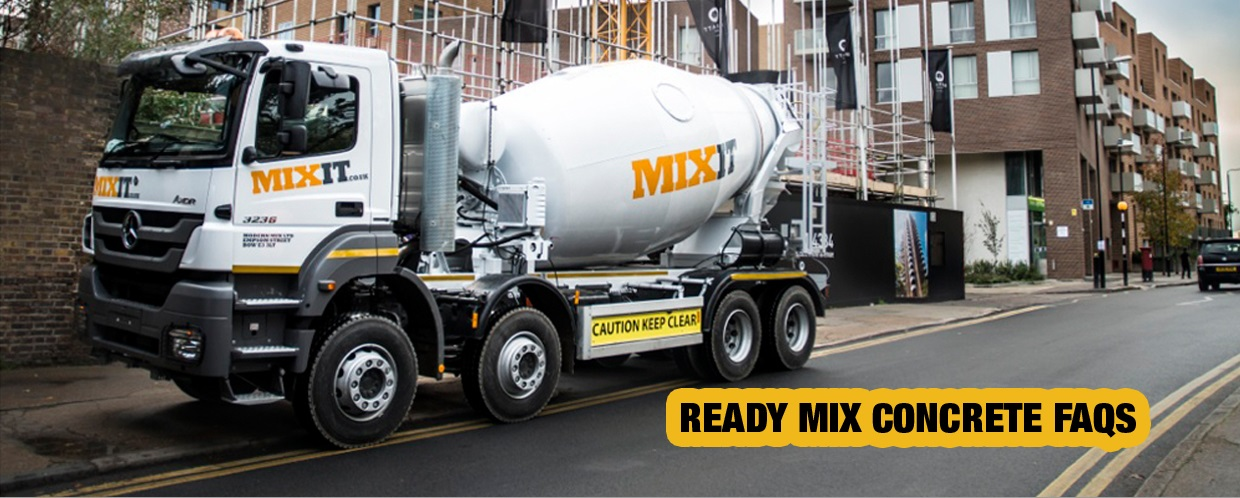 mixit ready mix concrete