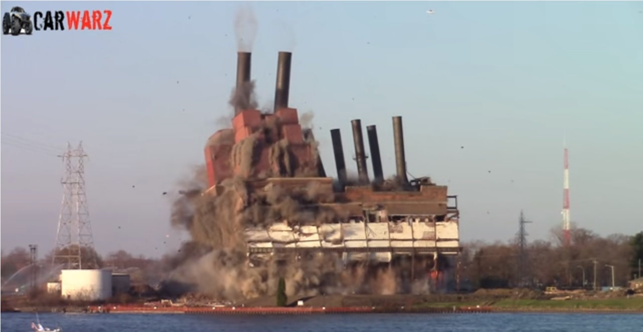 michigan power plant implosion