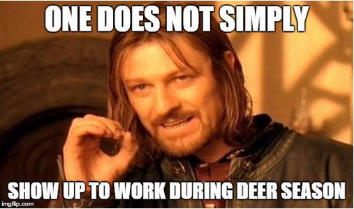 deer season construction