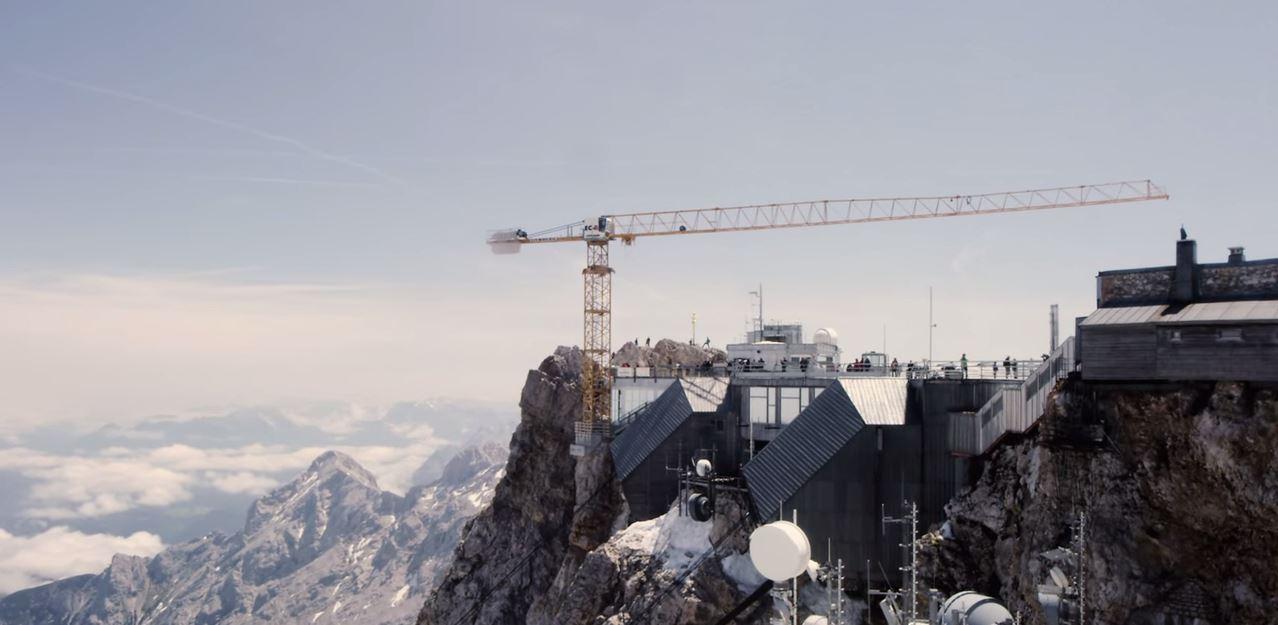 zugspitze crane