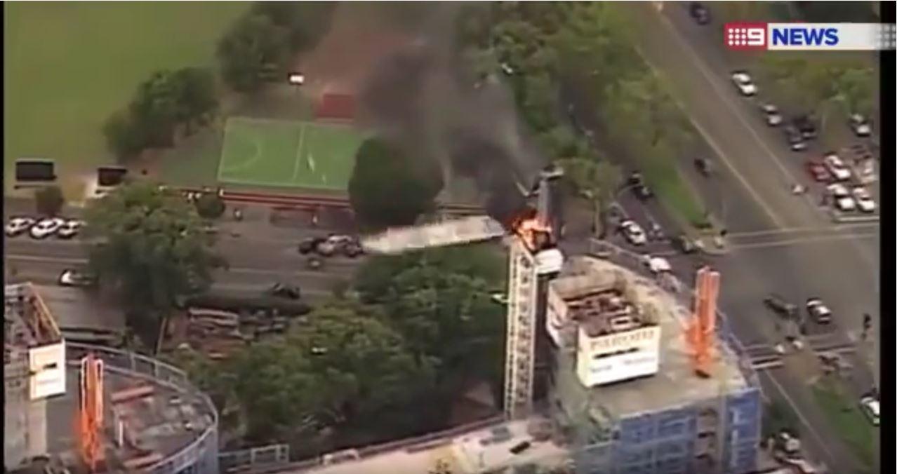 melbourne crane collapse 2016