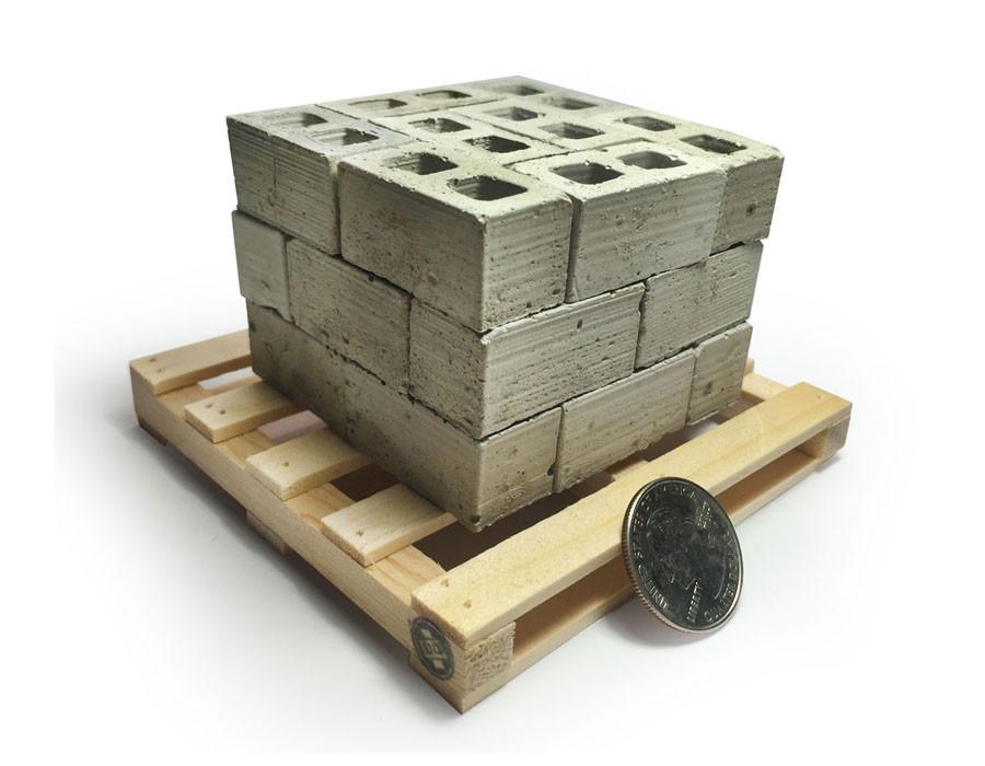 Mini Materials CMU block