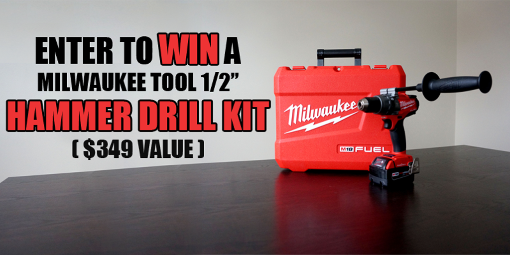 win a milwaukee hammer drill