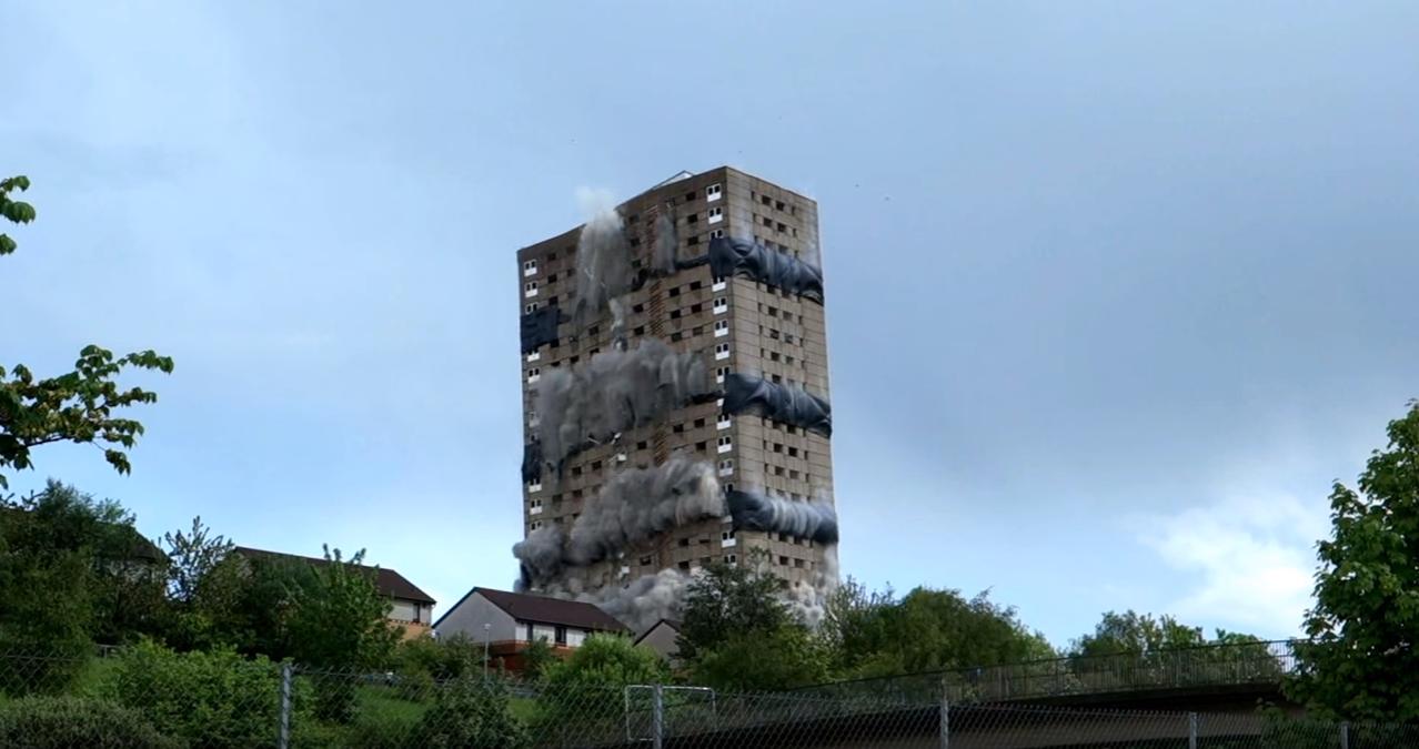 roystonhill flats demo
