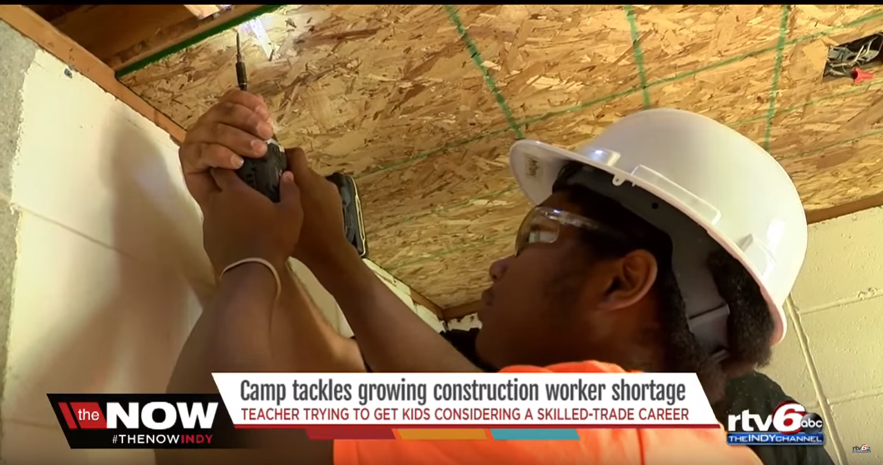 construction summer camp