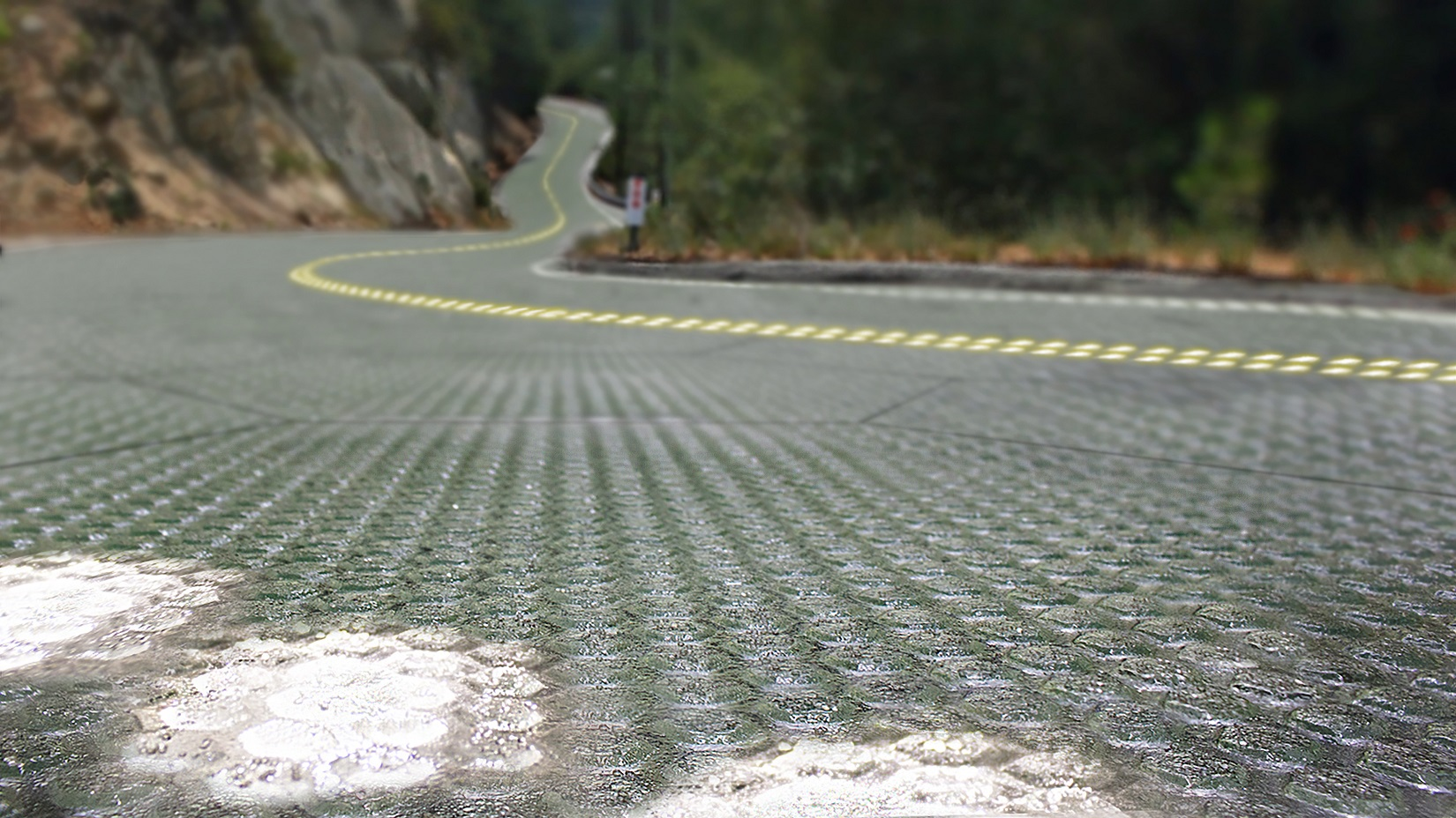 Image courtesy of  Solar Roadways