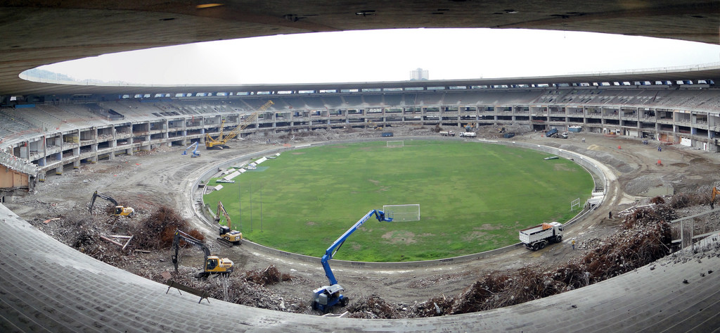 Maracana Stadium in Brazil, location of the opening and closing ceremonies of the 2016 Rio Olympics and a location of the 2014 World Cup. Photo by  Rodrigo Soldon ,  CC BY-ND 2.0