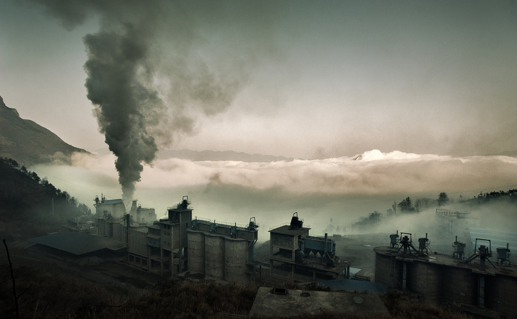 Cement factory in China.  Photo by  Jonathan Kos-Read ,  CC BY-ND 2.0