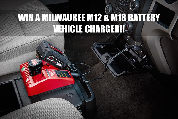 Milwaukee M12 and M18 Battery Vehicle Charger