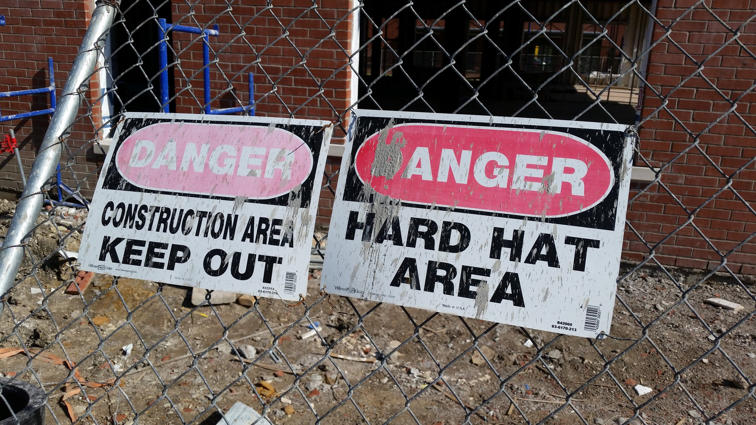 danger construction