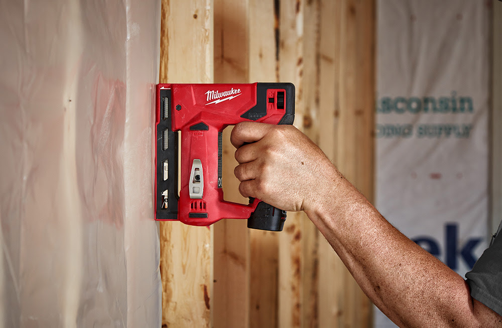 "Milwaukee M12 3/8"" Crown Stapler"