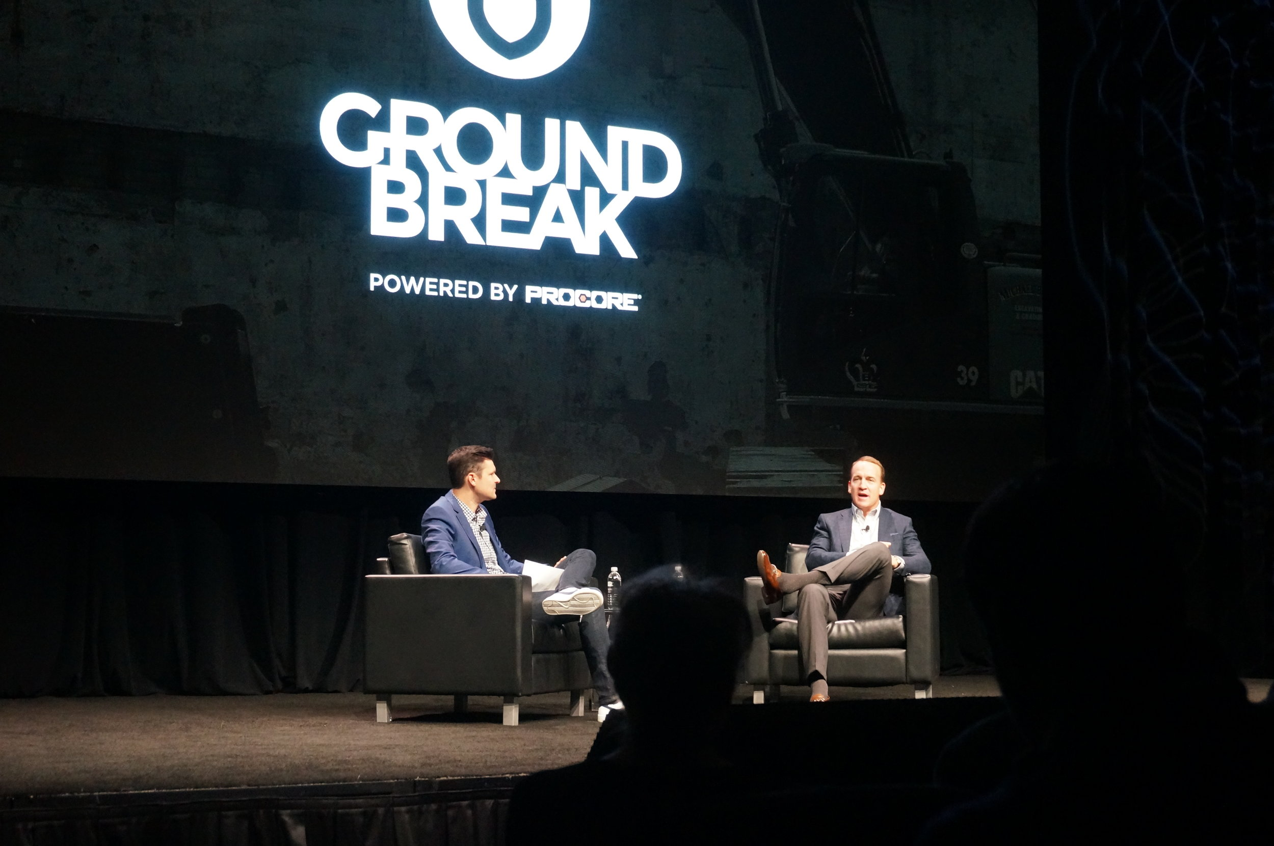 Peyton Manning at Procore Groundbreak 2018