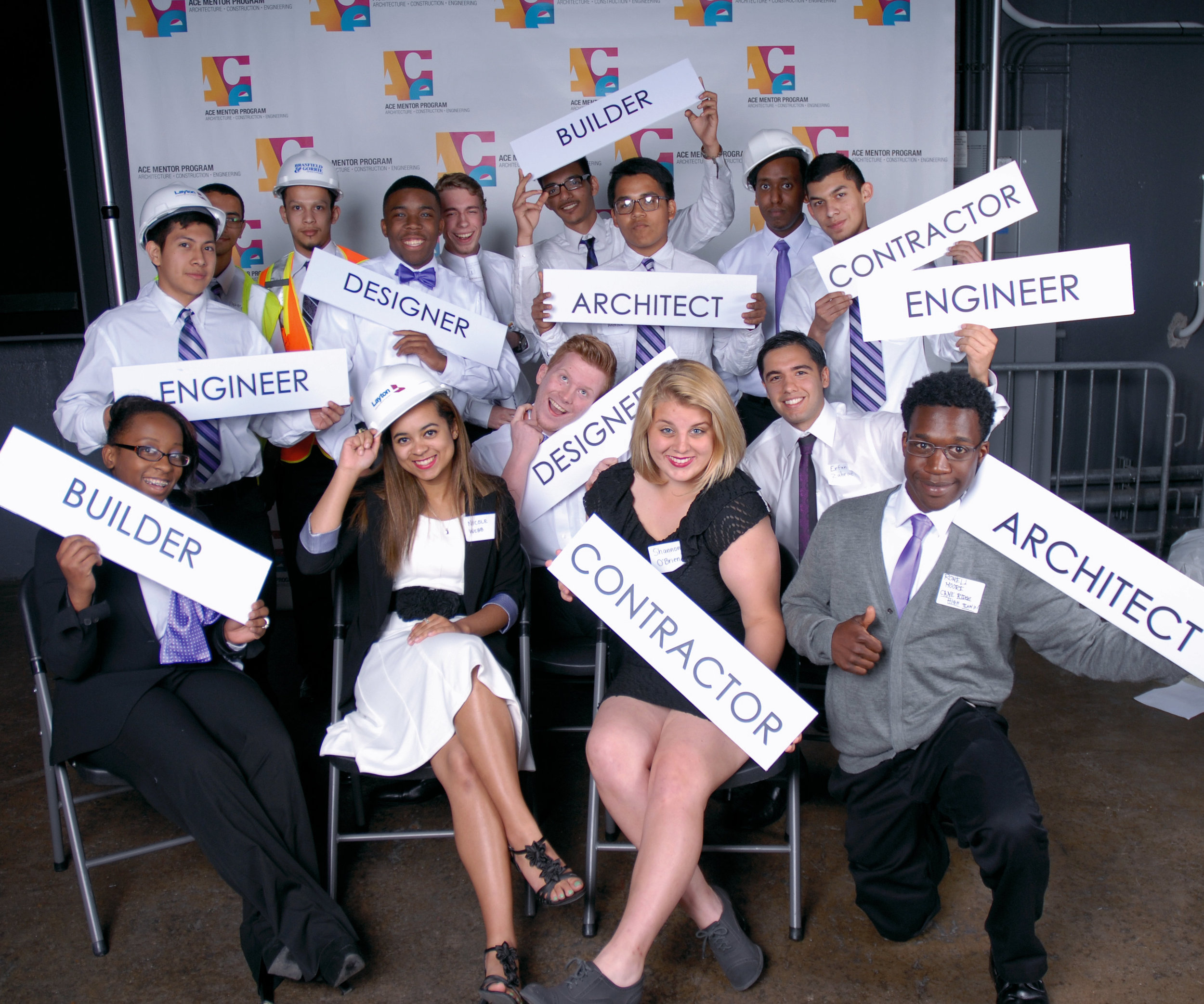 Students from the ACE Mentor program in Nashville. Photo courtesy of ACE.