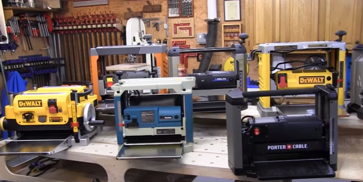 VIDEO] The Most Comprehensive Review of Benchtop Thickness Planers