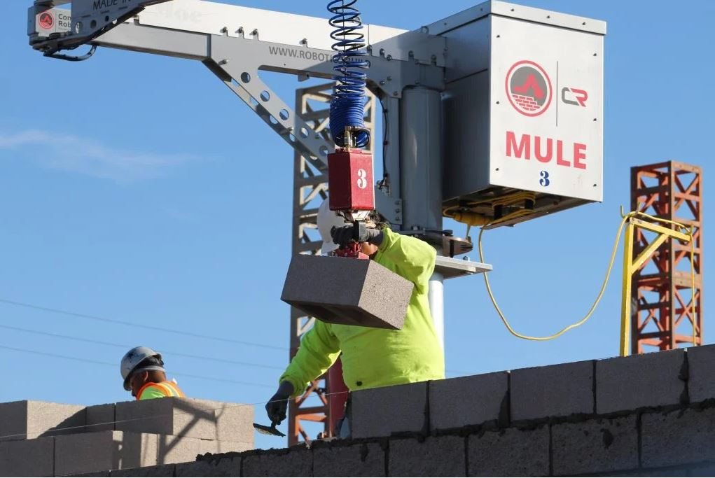 The MULE 135 via  Construction Robotics