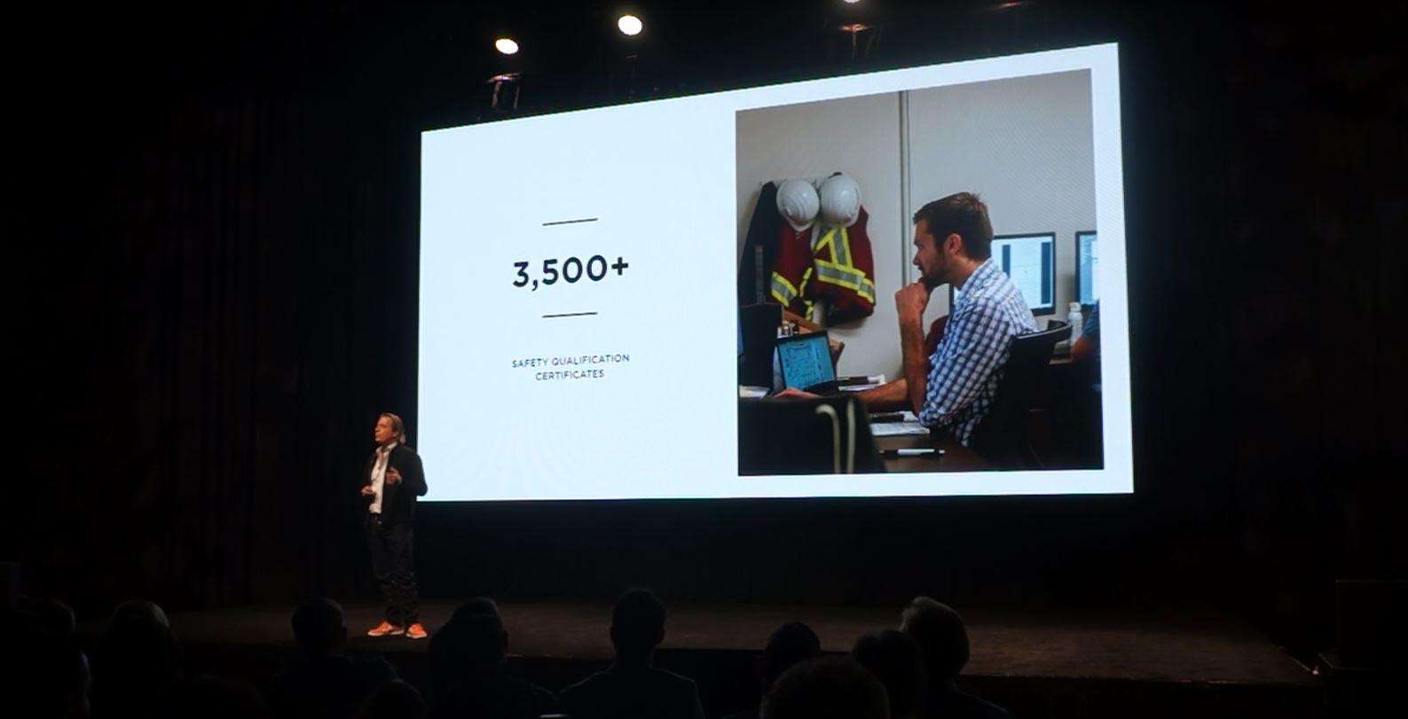 Procore CEO Tooey Courtemanche Speaking About Procore's Safety Platform at Groundbreak 2018