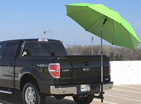 SHAX Shade Umbrella truck trailer hitch mount