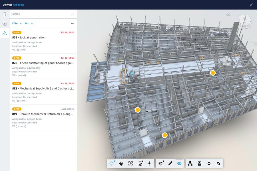 multi-model view screenshot, via Autodesk