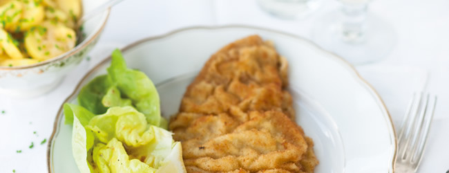 Main Dishes  Wiener Schnitzel & more