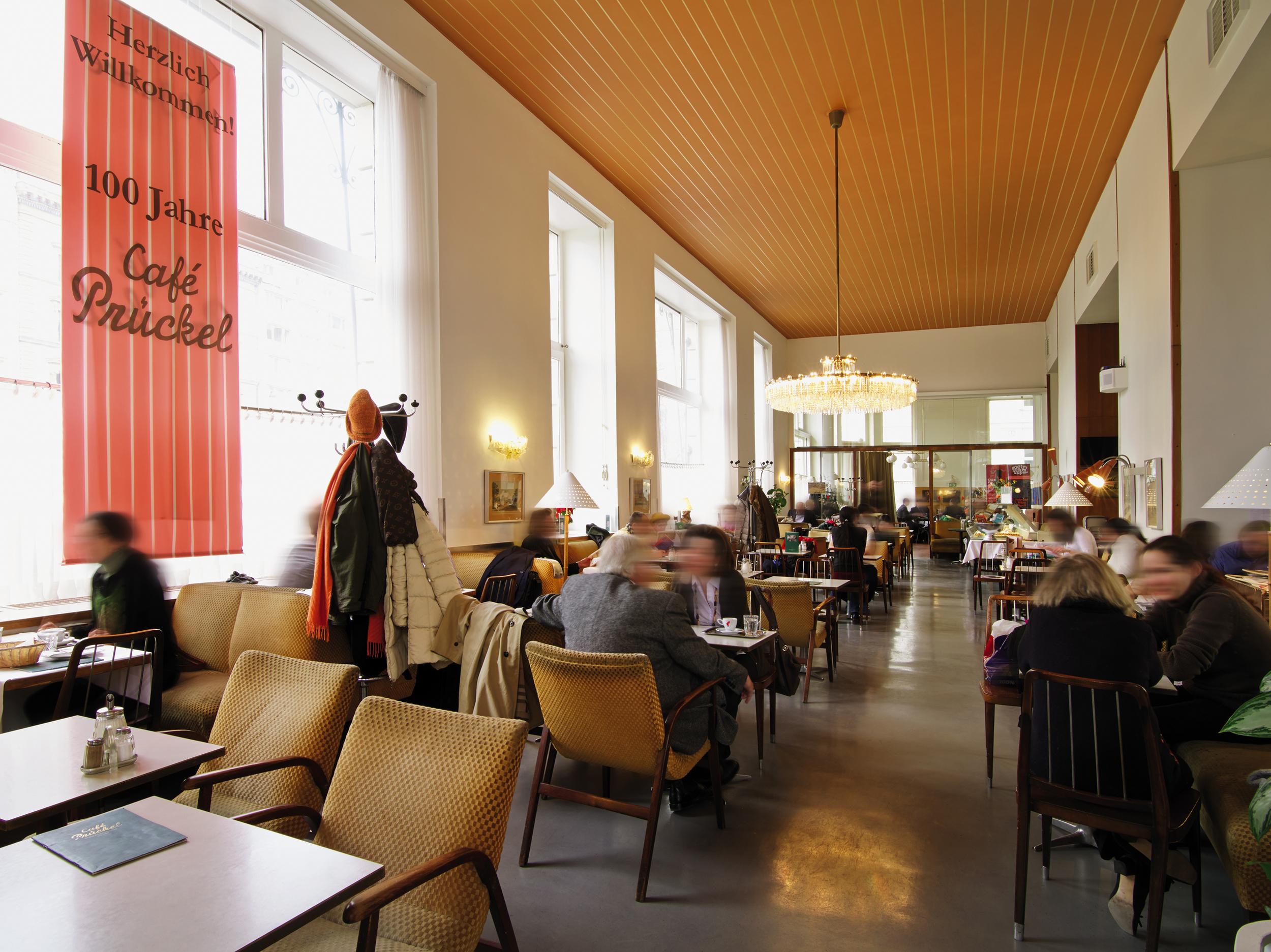 Cafe Prückel in Vienna ©   WienTourismus, Christian Stemper