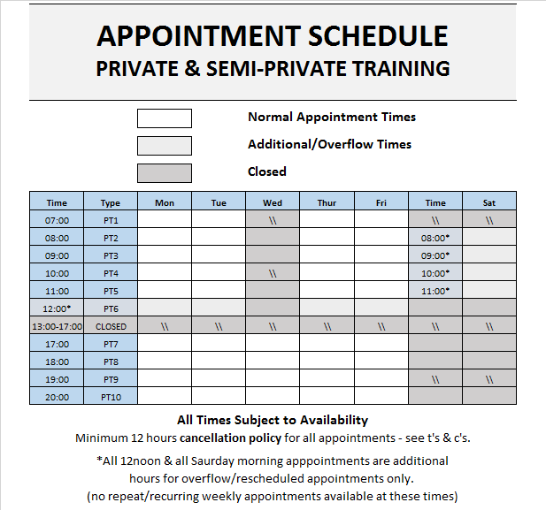 PKV appointment schedule 2019.png