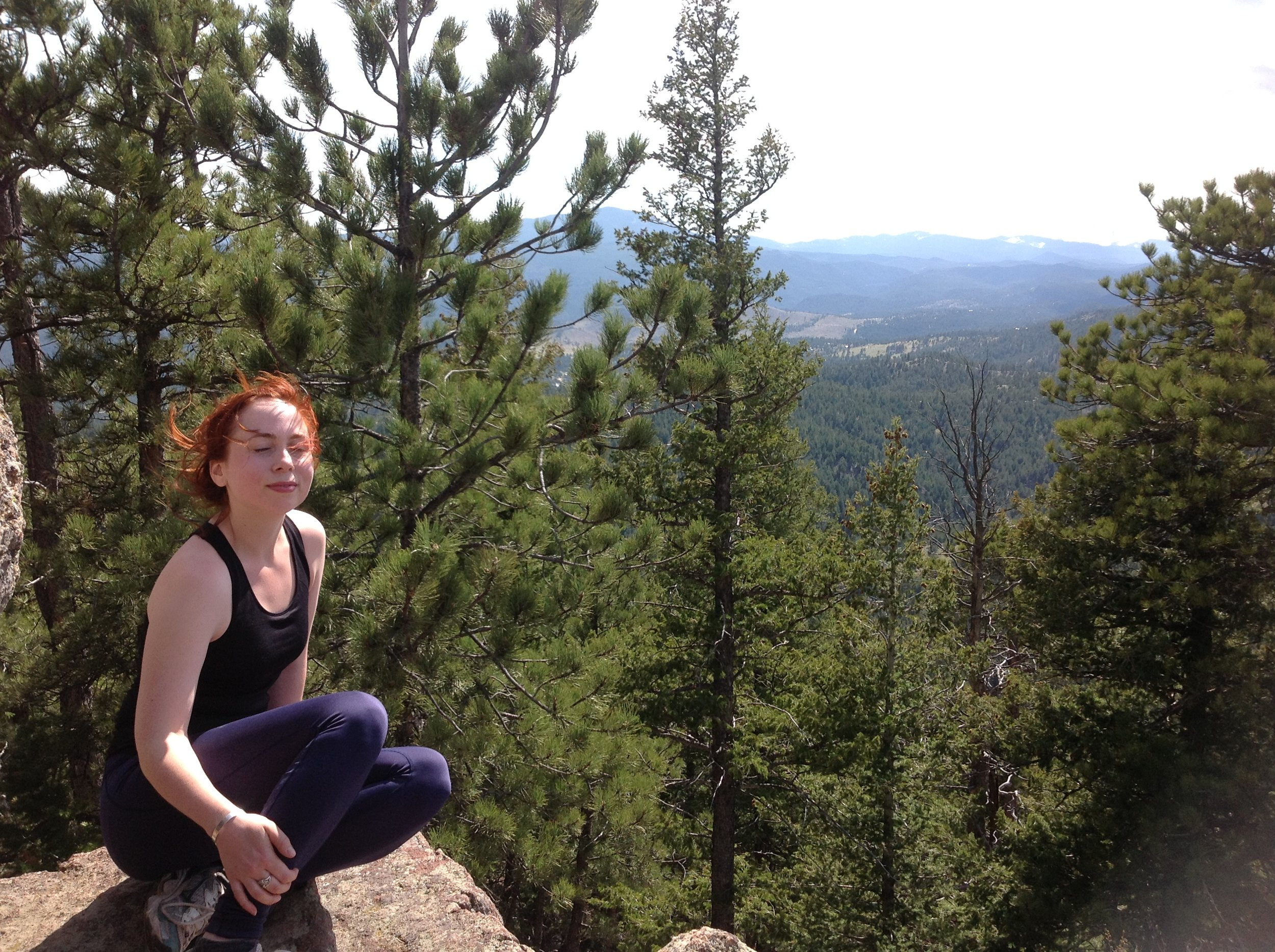 Ally on Green Mtn CO.JPG