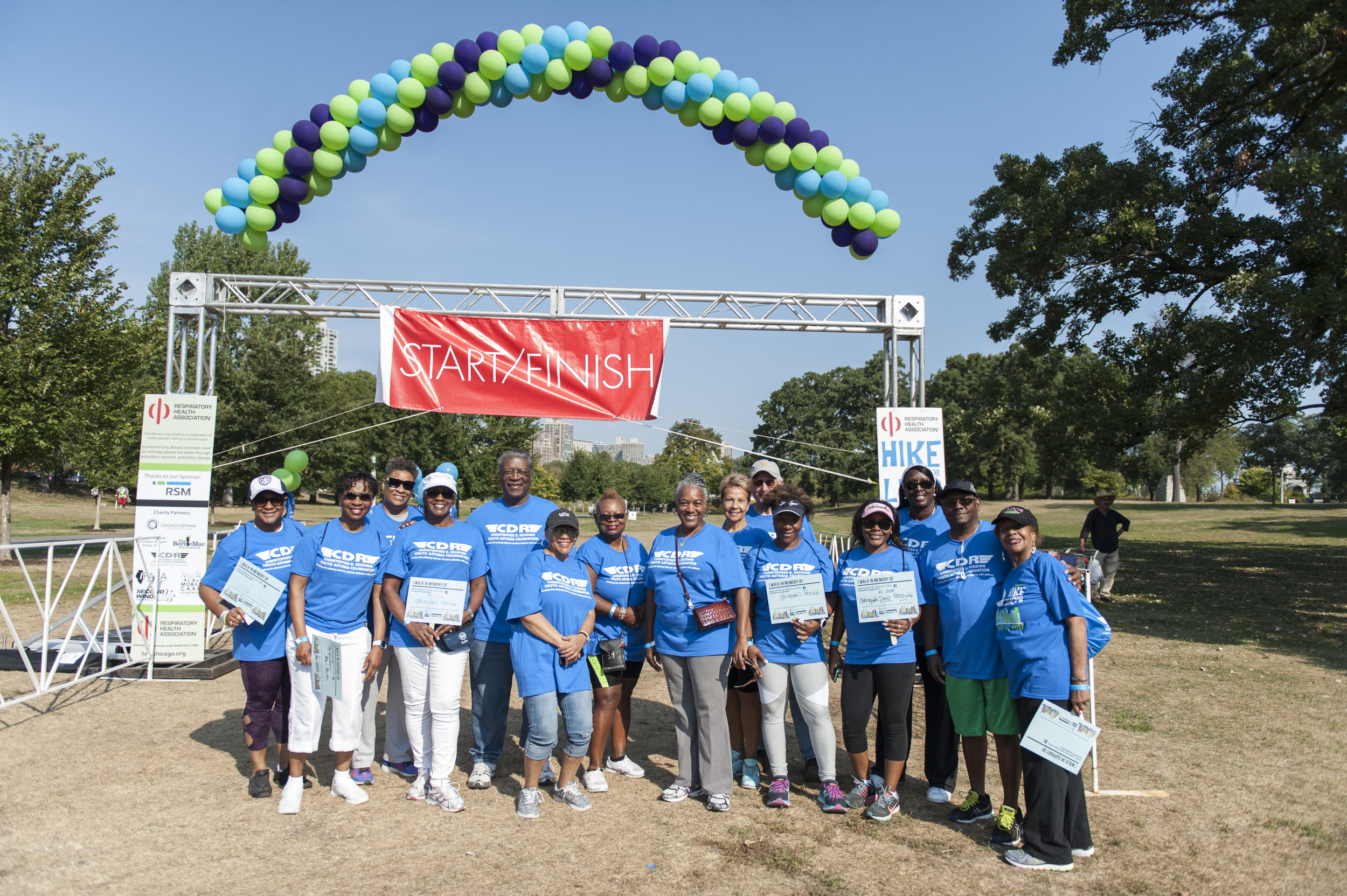 2017 Respiratory Health Association Hike for Lung Health