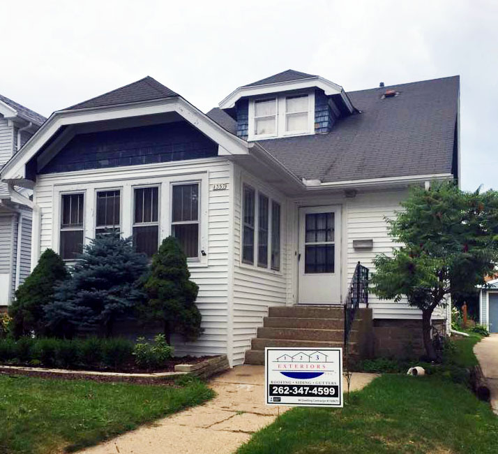 Christ and Anastasia Zervas of Wauwatosa, WI receive a new roof in October