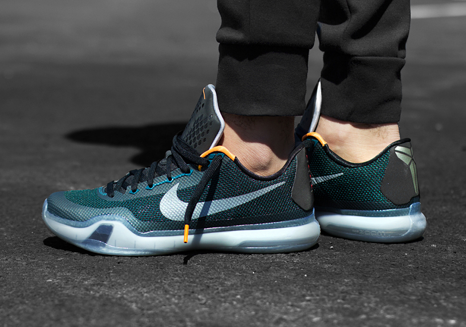 "Nike Kobe 10 ""Flight"" On-Feet Photos"