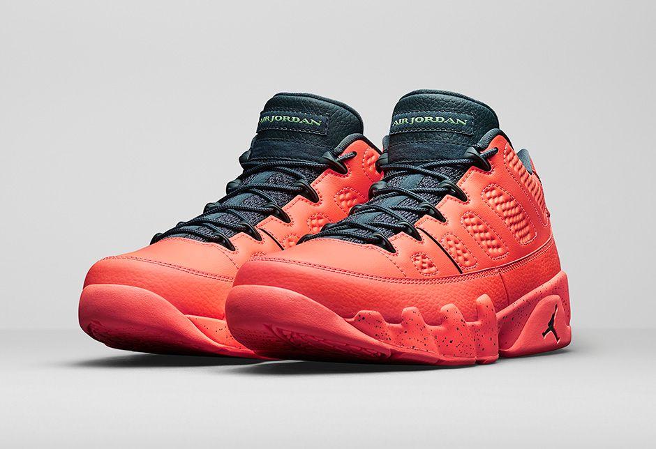 """Air Jordan 9 Retro Low """"Bright Mango"""