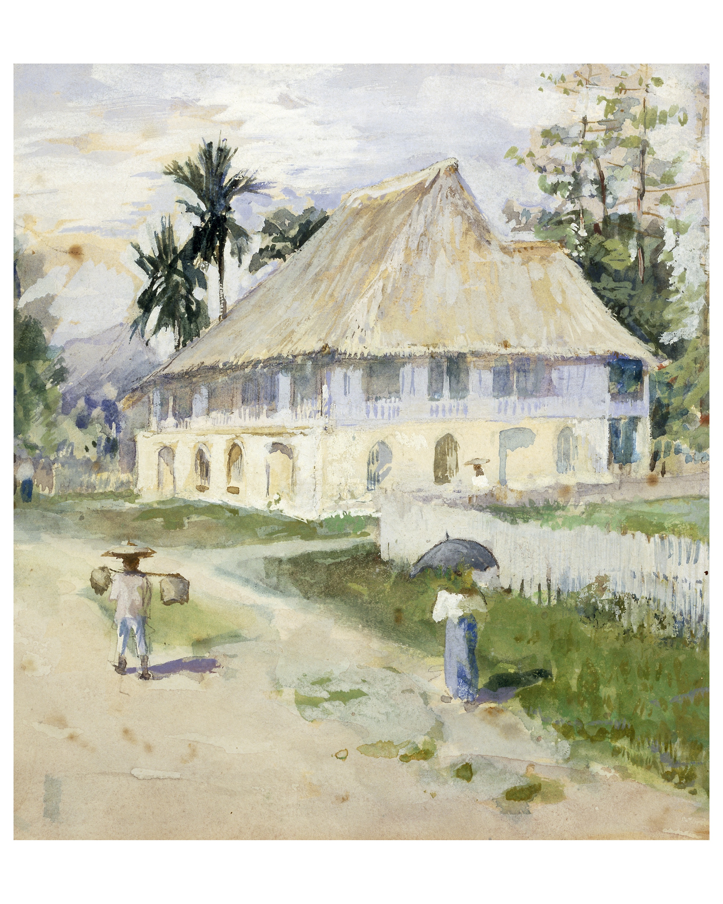 Governor's House, Panay, Philippines  1901-1902