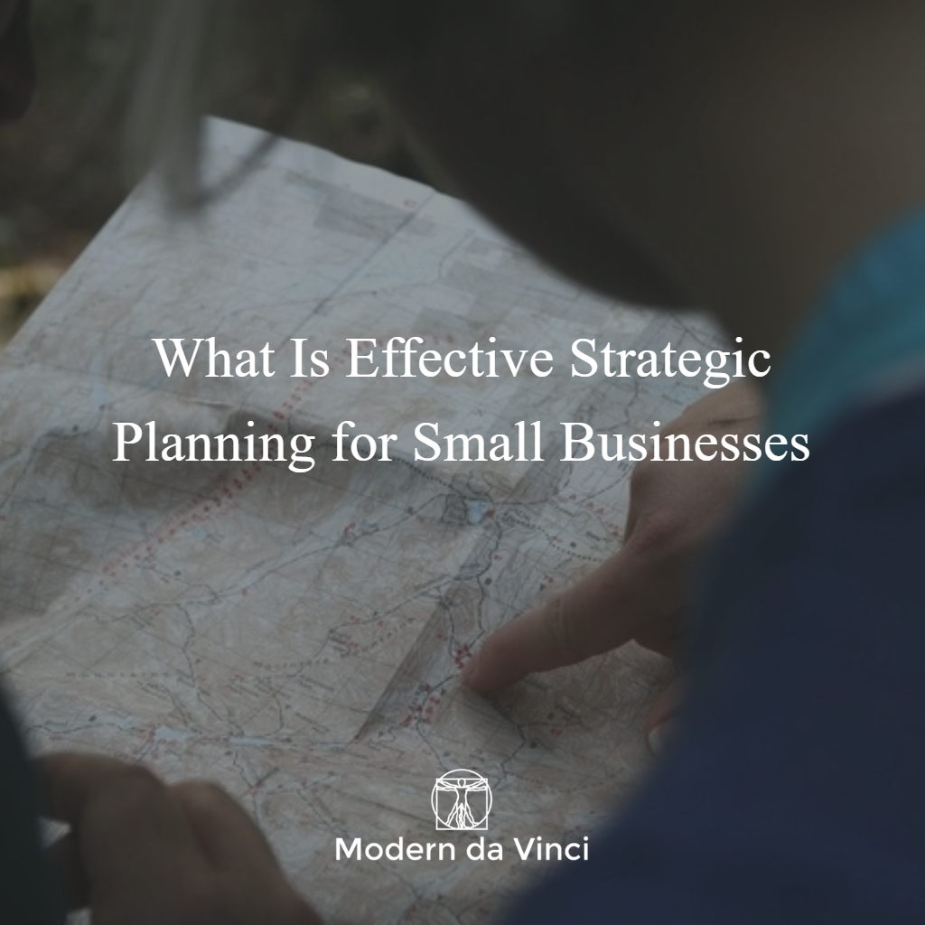 In  What Is Effective Strategic Planning for Small Businesses , we discussed the importance of creating a company purpose for your small business and 4 steps you can use to develop a purpose statement that informs your ever business move.