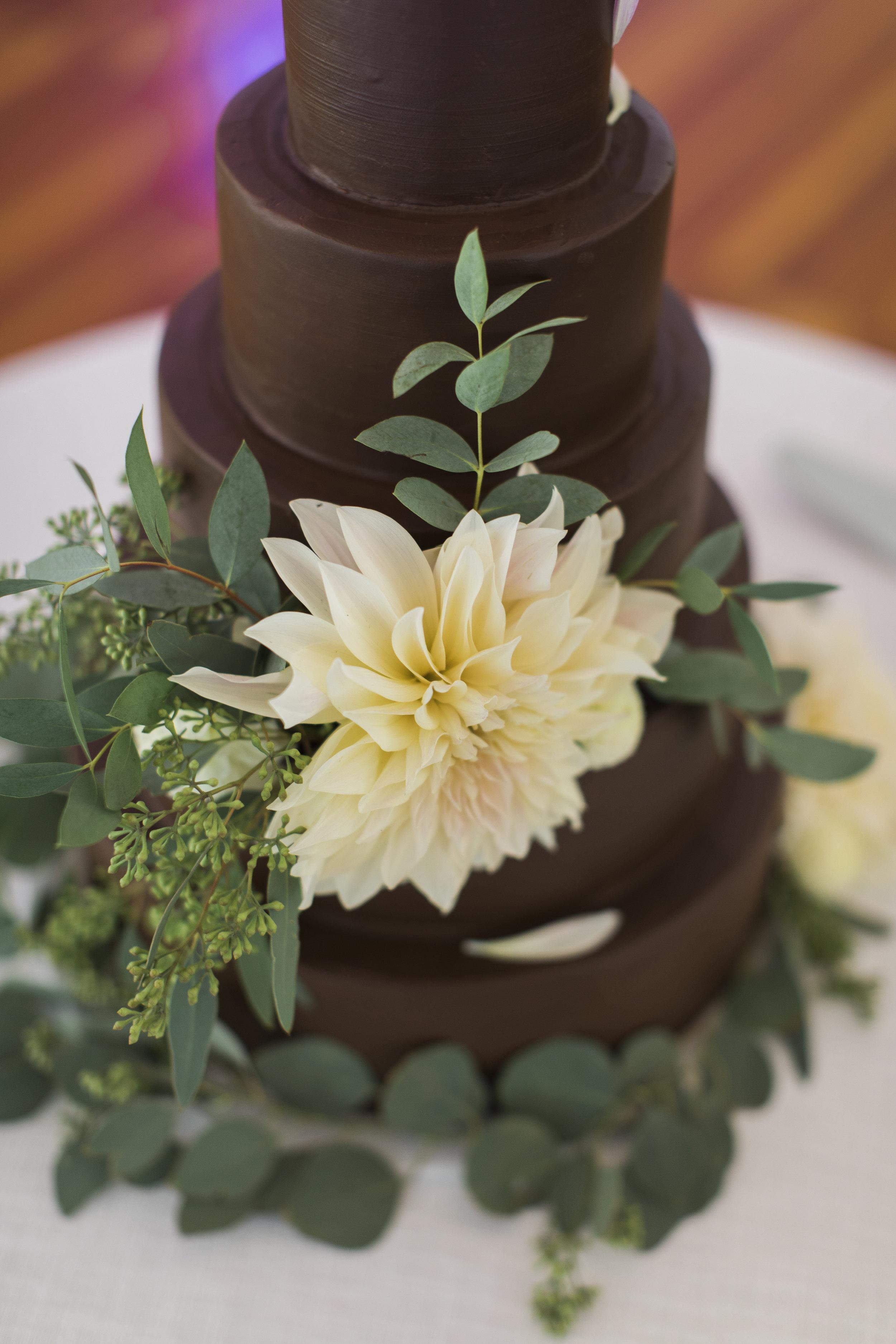 Chocolate Dahlia, The Farmer's Daughter