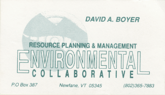 Logo design — Viewed as business card