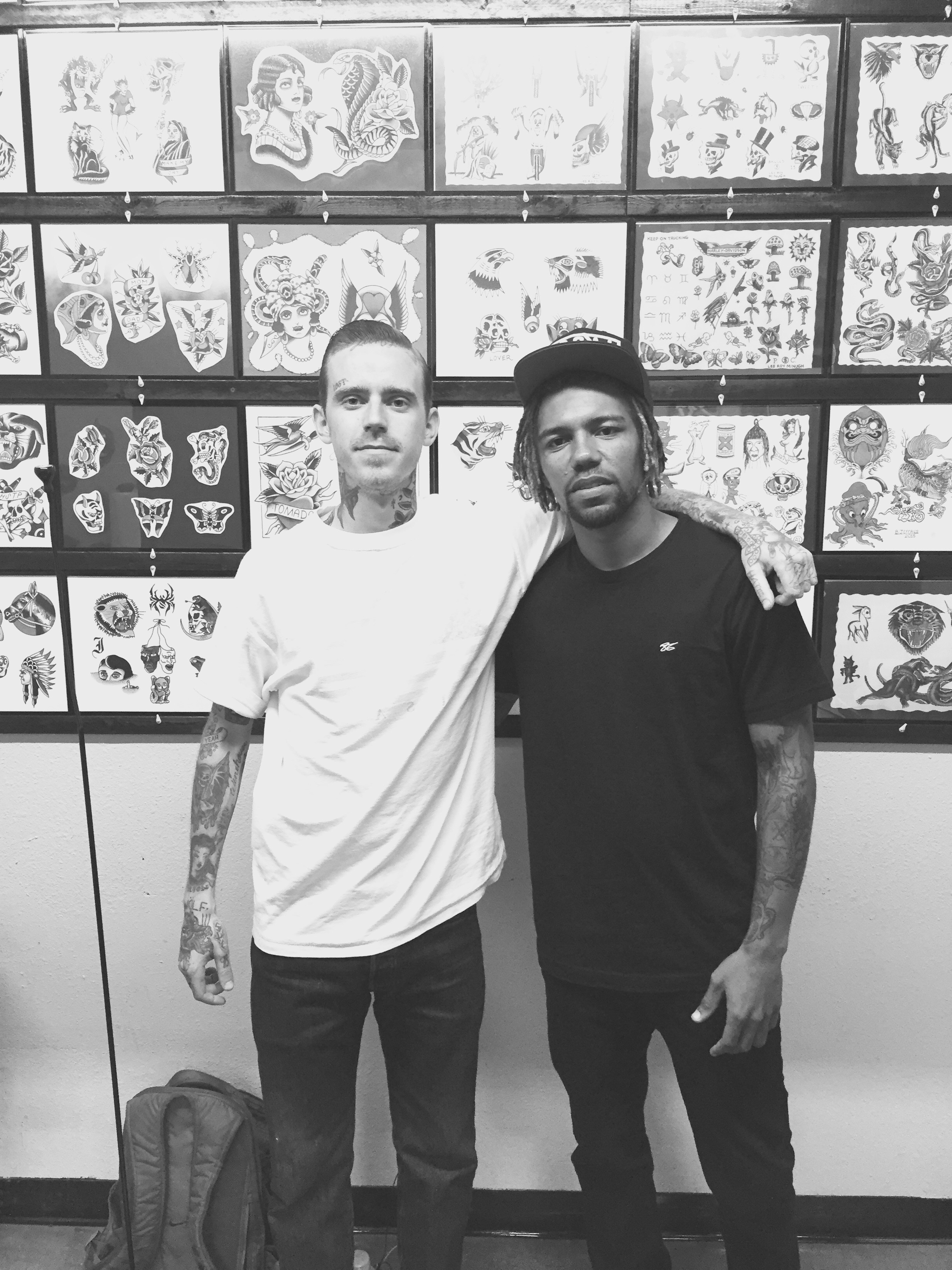 Jeff Sypherd & Joon @ Mission Tattoo in Riverside, CA | 05/13/2015
