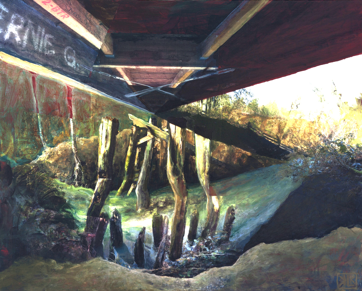 Under and Out - Fanno Creek Trail